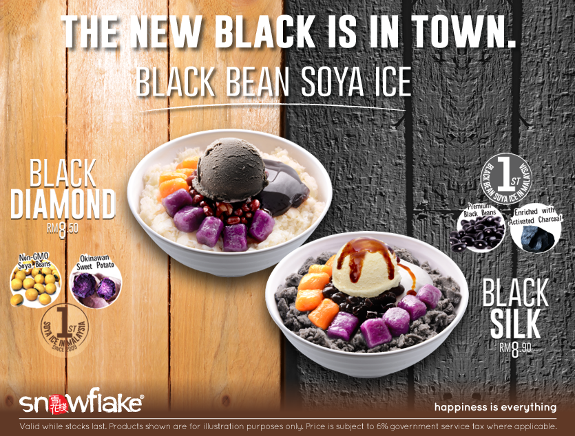 Snowflake Black Bean Soya Ice
