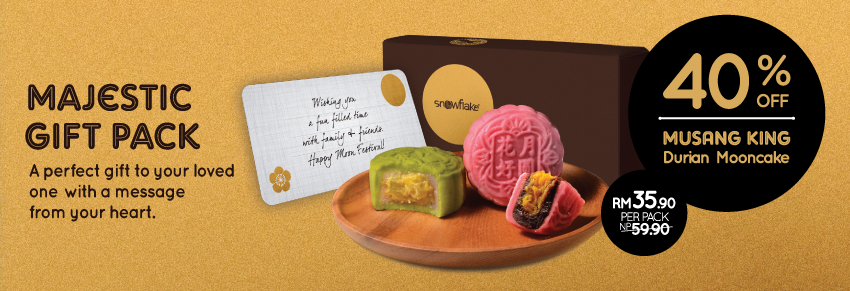 Musang King Snowskin Mooncake