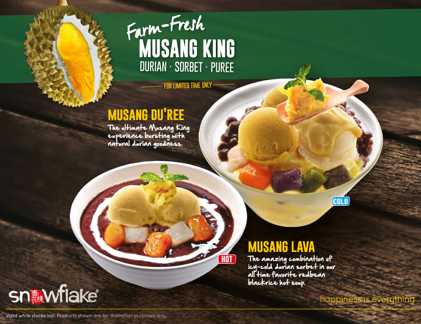 Snowflake Farm Fresh Musang King